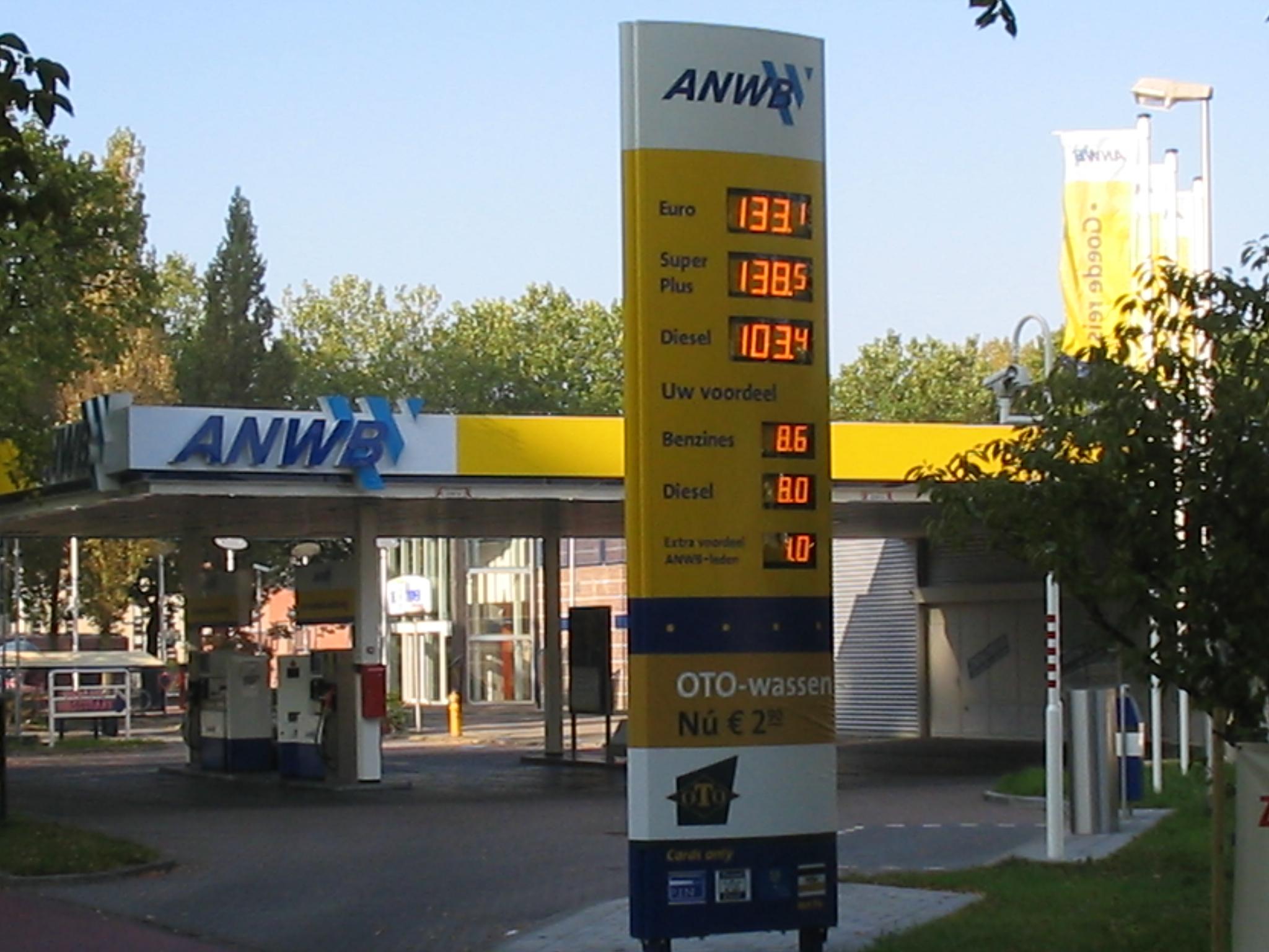 Brandstofprijzen Duitsland