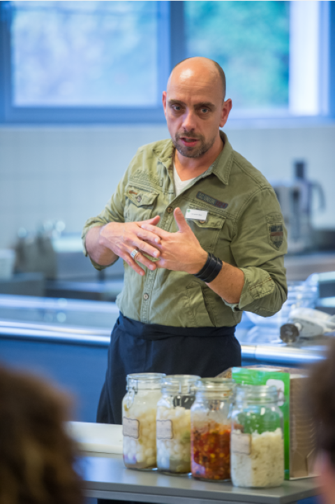 Scandinavische Keuken Kookboek : Chefs aan de slag met fermenteren van groenten @FoodClicks