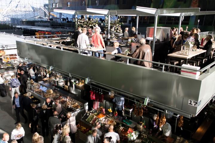 Markthal rotterdam goed voedsel van dagvers tot lang for Fellini rotterdam