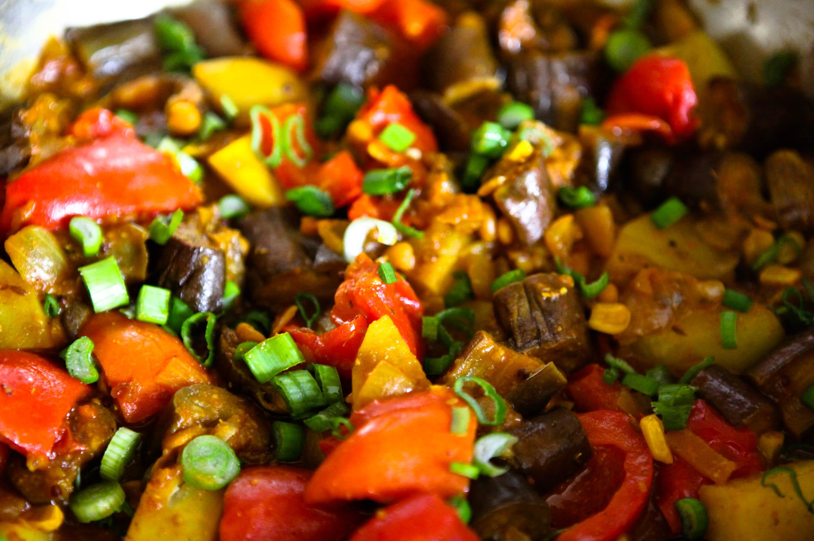 vegatarische gerechten