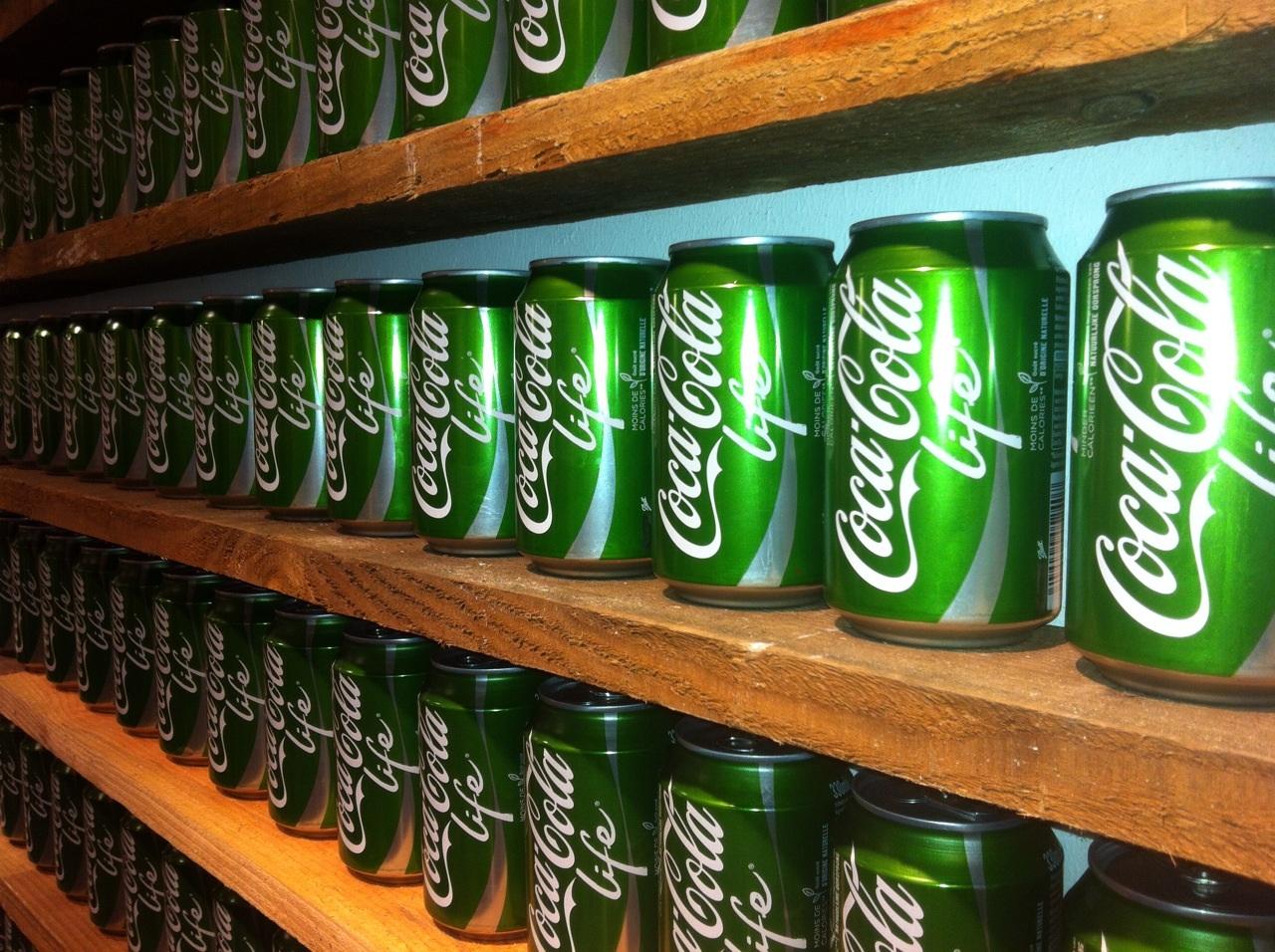 Coca-Cola opent pop-upstore voor life